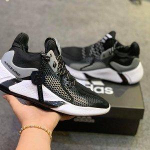Adidas alphabounce instinct m đen trắng rep 11