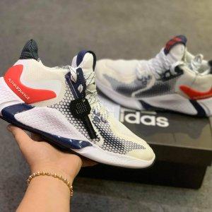 Giày Adidas alphabounce instinct m trắng đỏ giá rẻ