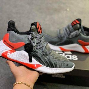 Giày Adidas alphabounce instinct m xám đỏ rep