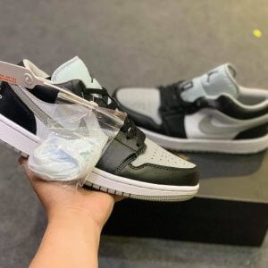 Giày Air Jordan 1 Low Shadow Đen Xám