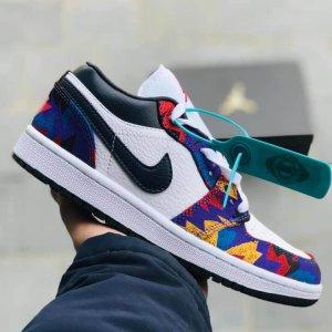 Giày Nike Jordan 1 Low thổ cẩm
